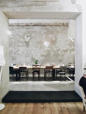La Ménagère dining room in Florence