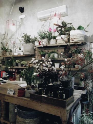La Ménagère florist corner in Florence