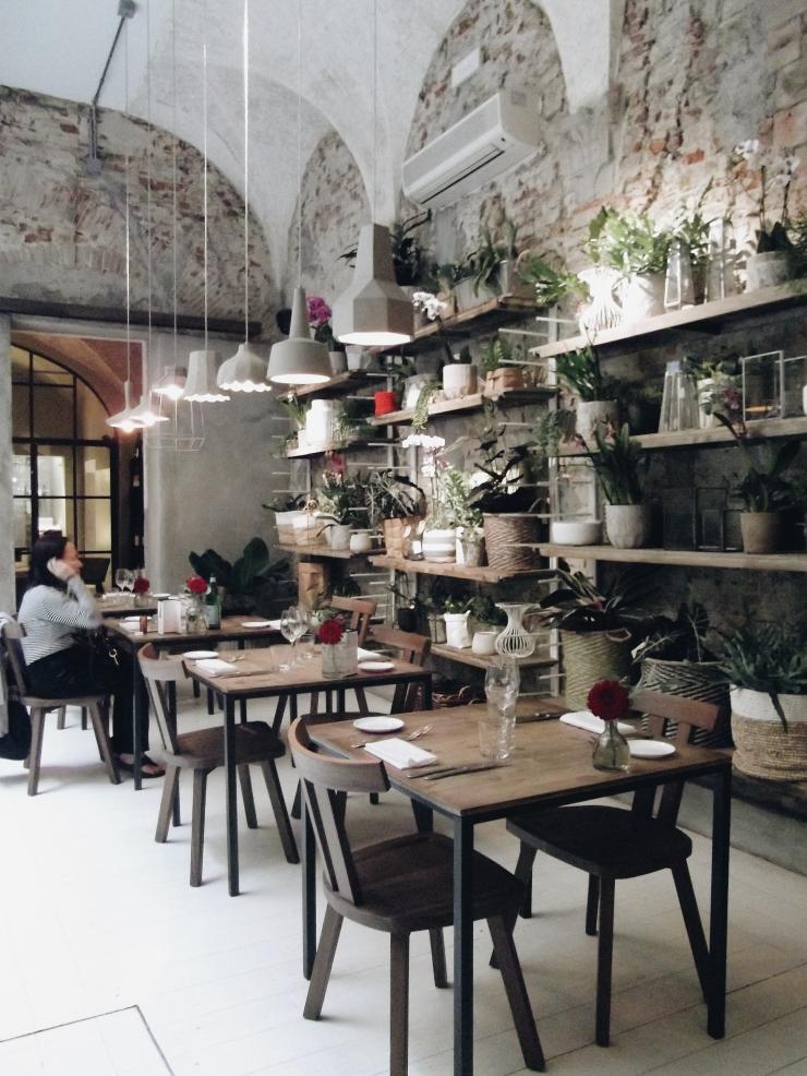 La Ménagère restaurant interiors in Florence