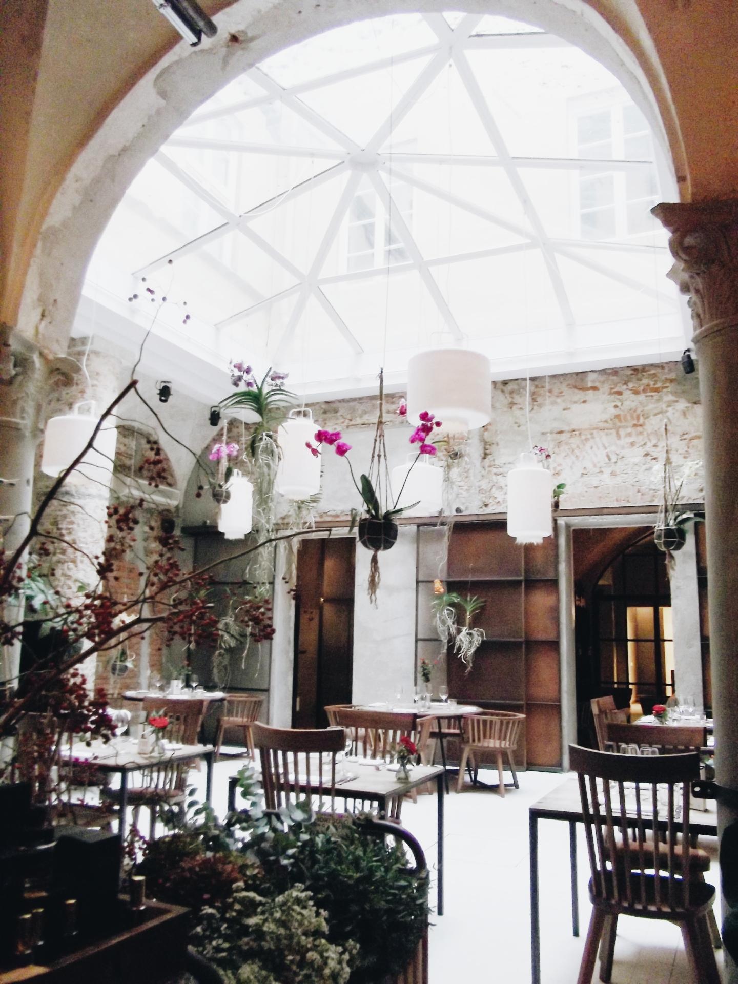 La Ménagère skylight conservatory in Florence