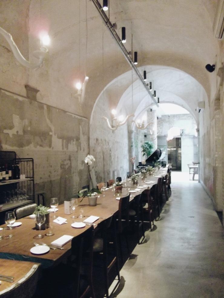 La Ménagère vaulted ceiling in Florence