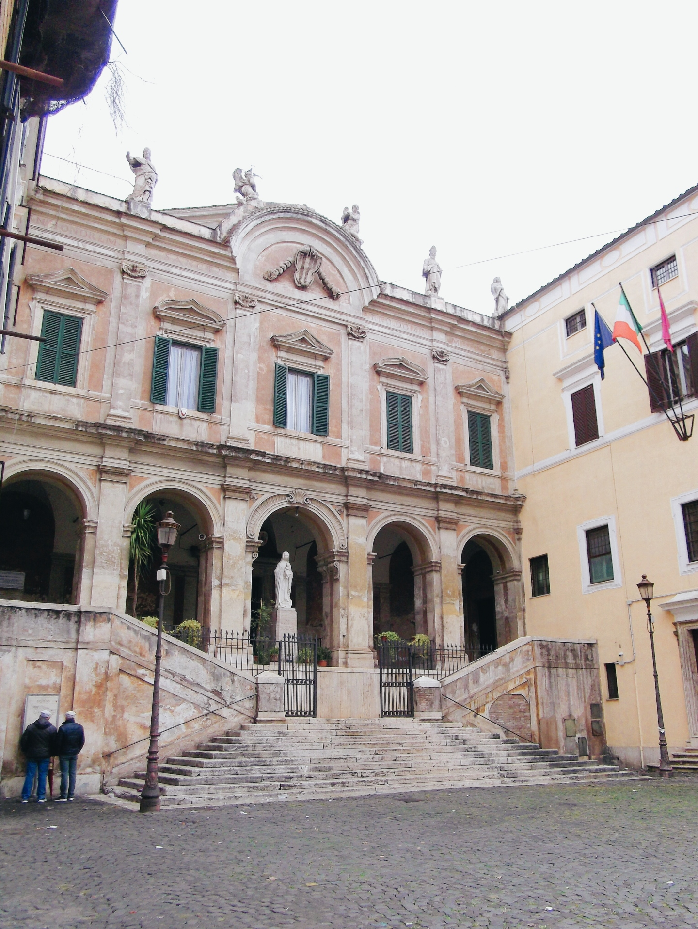 Parrocchia Sant'Eusebio all'Esquilino Facade Colour