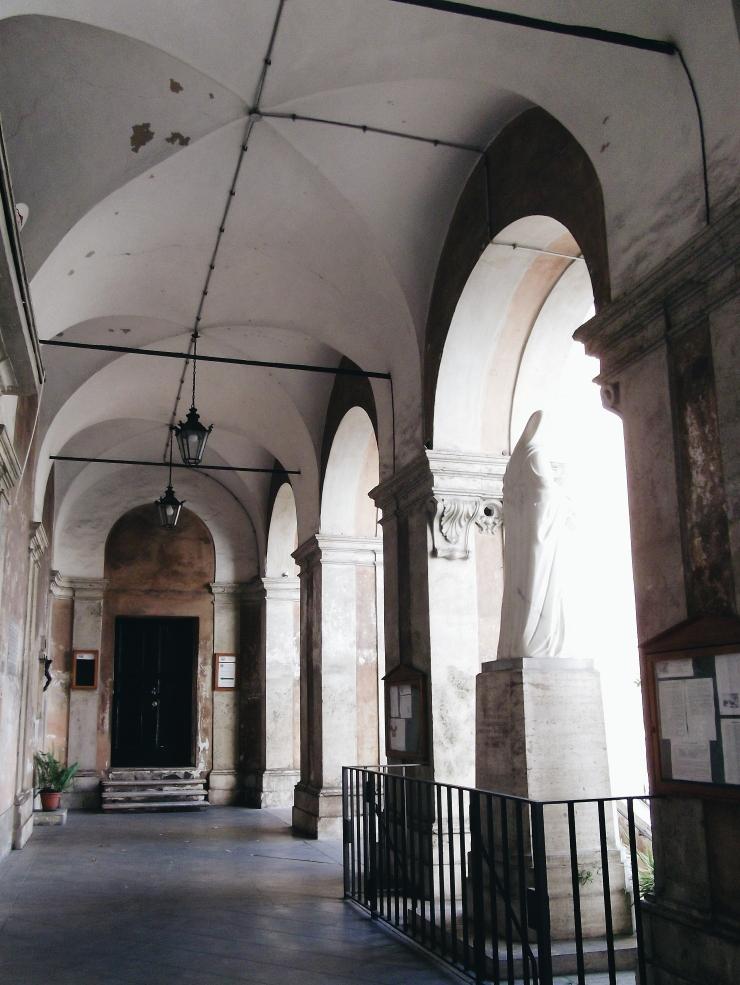 Vaulted ceiling of Parrocchia Sant'Eusebio all'Esquilino