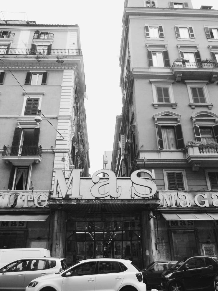 MAS Facade Rome Esquilino