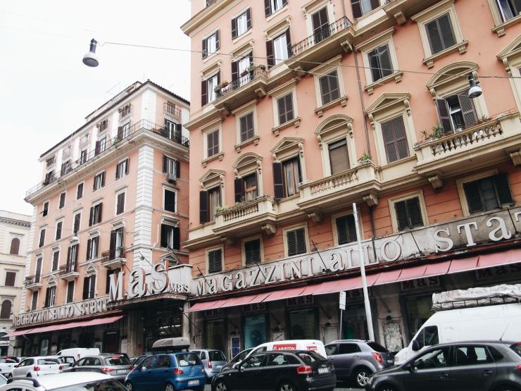 MAS Rome Building Facade