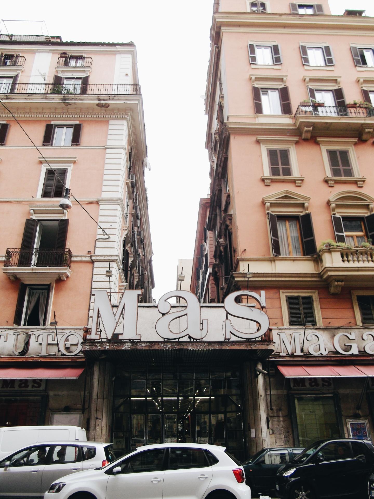 MAS Rome entrance Esquilino