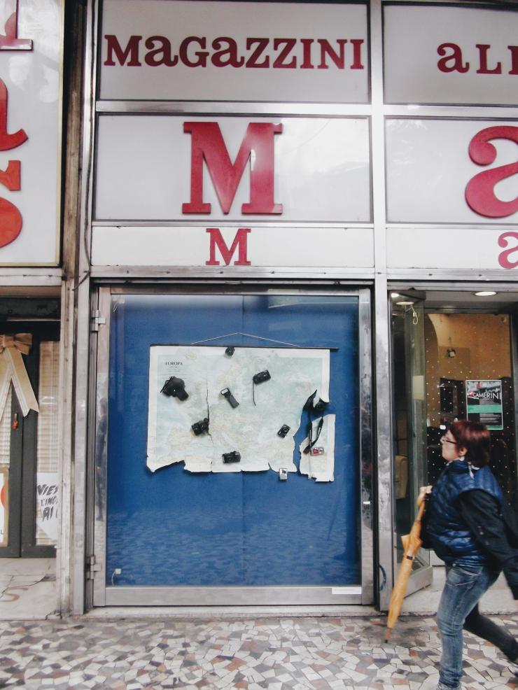 MAS store exit Rome Esquilino