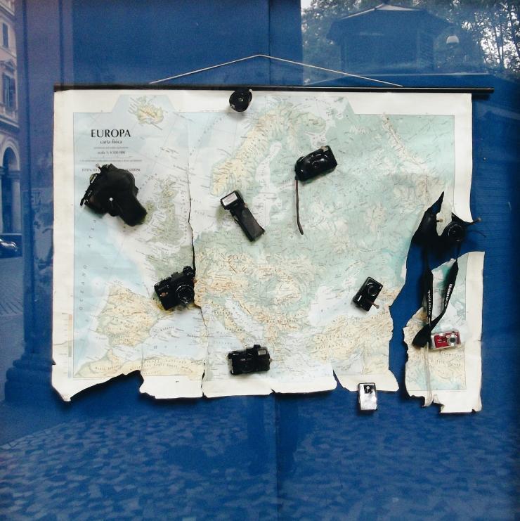 Rome MAS Esquilino window close up
