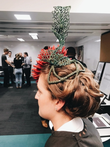 Aurecon Spring Racing Staff Pop Up Event with Rakis on Collins Hairdressing Hair Up
