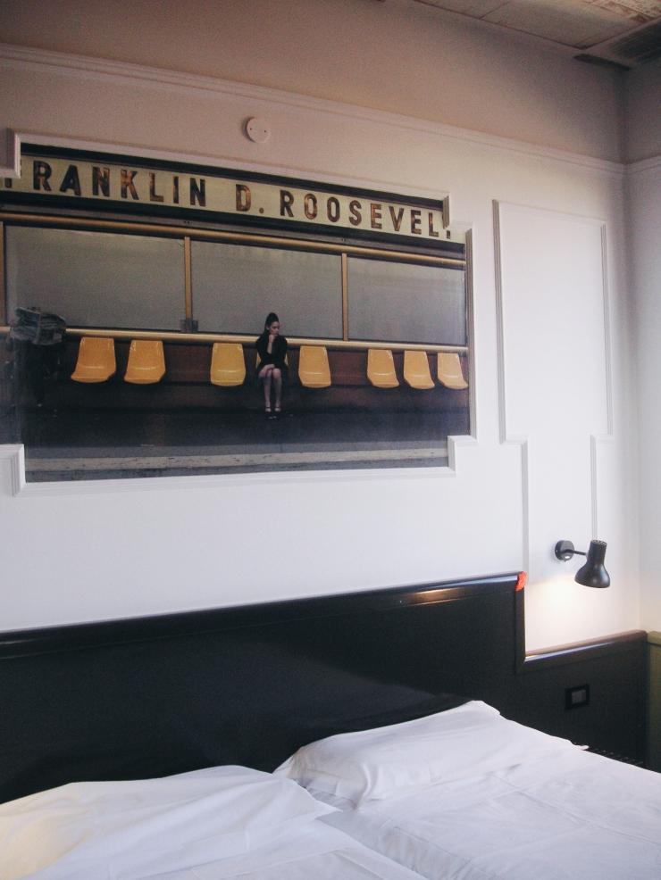 Generator Hostel Rome Room bedhead