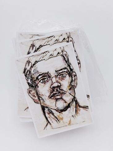 Brendan Hartnett postcard front cover