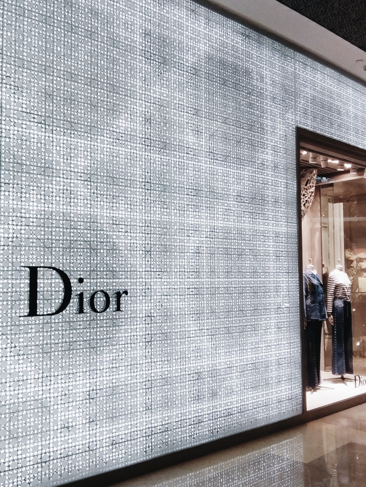 ION Orchard Shopping Mall Dior boutique in Singapore
