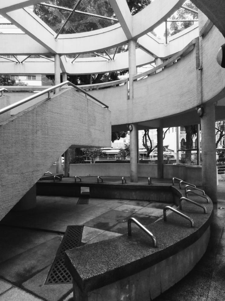 Bras Basah Complex brutalist architecture