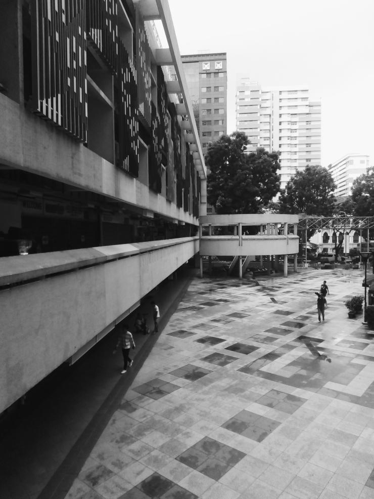 Bras Basah Complex brutalist architecture Singapore