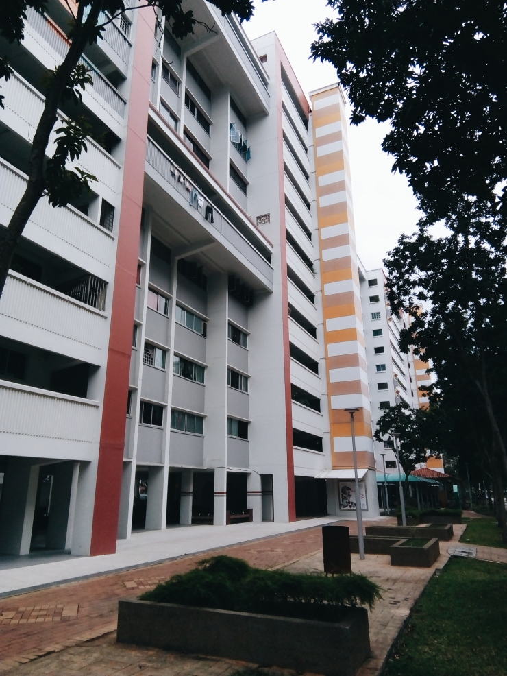 Tampines HDB flat architecture social housing Singapore