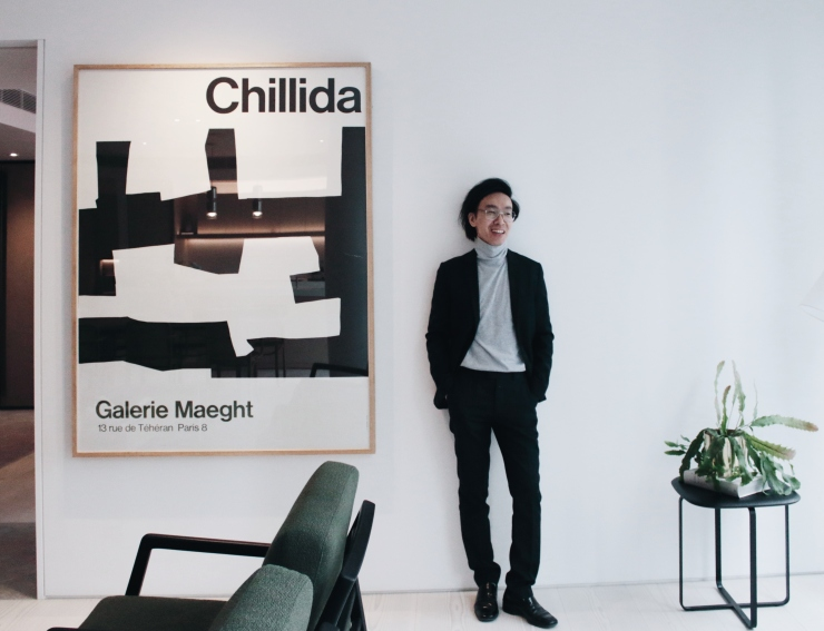 85-Spring-Street-Melbourne-by-Golden-Age-Group-with-Alvin-Chia-luxury-apartment-showroom-living-room-interiors