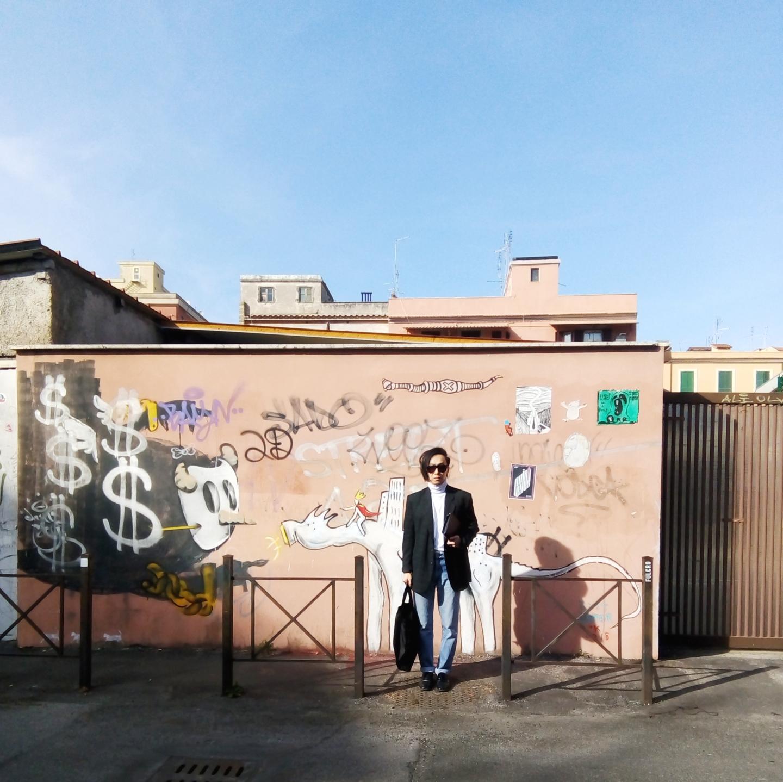 Pigneto Rome Street Style Alvin Chia Rome Via Braccio da Montone
