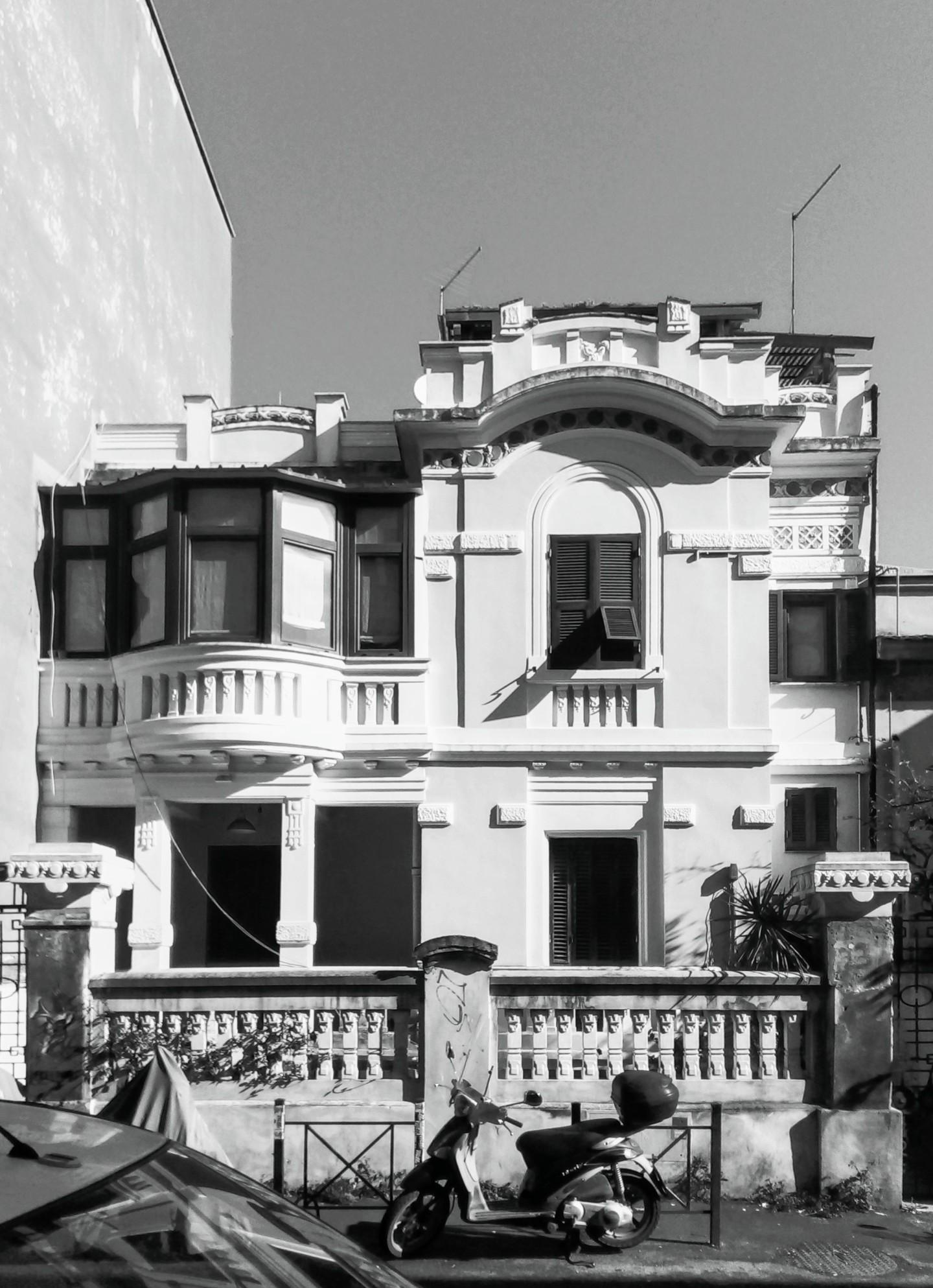 Pigneto Rome Via Braccio Da Montone building Street View facade