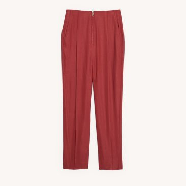 Chadstone SFPPA00578TERRACOTTA_High waisted tailored trousers