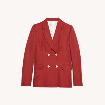 Chadstone SFPVE00372TERRACOTTA_9__Double breasted blazer $378