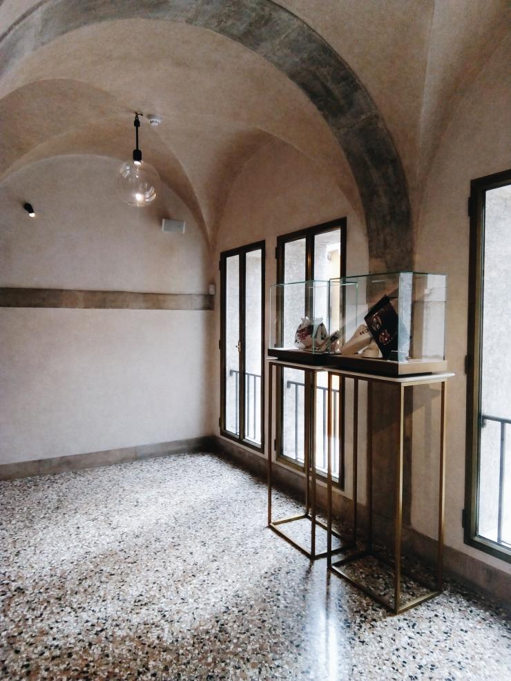 Venice Fondaco dei Tedeschi Terrazzo Stairwell