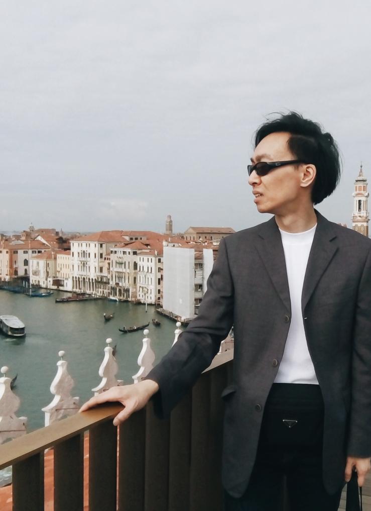 Venice Fondaco dei Tedeschi Rooftop Viewing Terrace with Alvin Chia