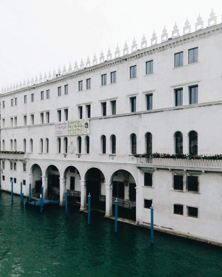 Venice DFS Fondaco dei Tedeschi Waterfront Facade