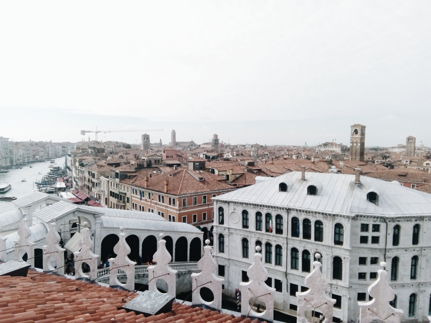 Venice Fondaco dei Tedeschi Rooftop Viewing Terrace