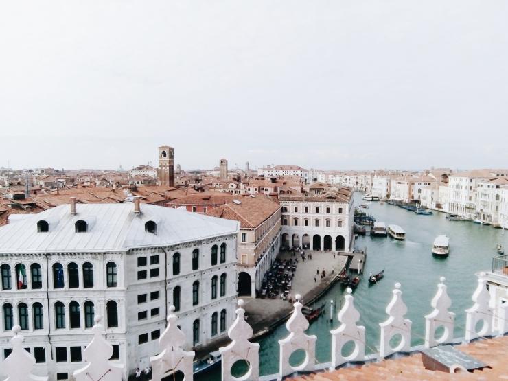 Venice Fondaco dei Tedeschi Rooftop Viewing Terrace Right