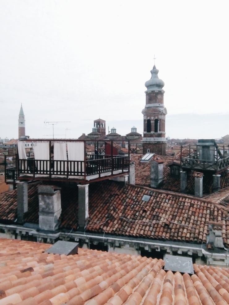 Venice Fondaco dei Tedeschi Rooftop Viewing Terrace Other Rooftops