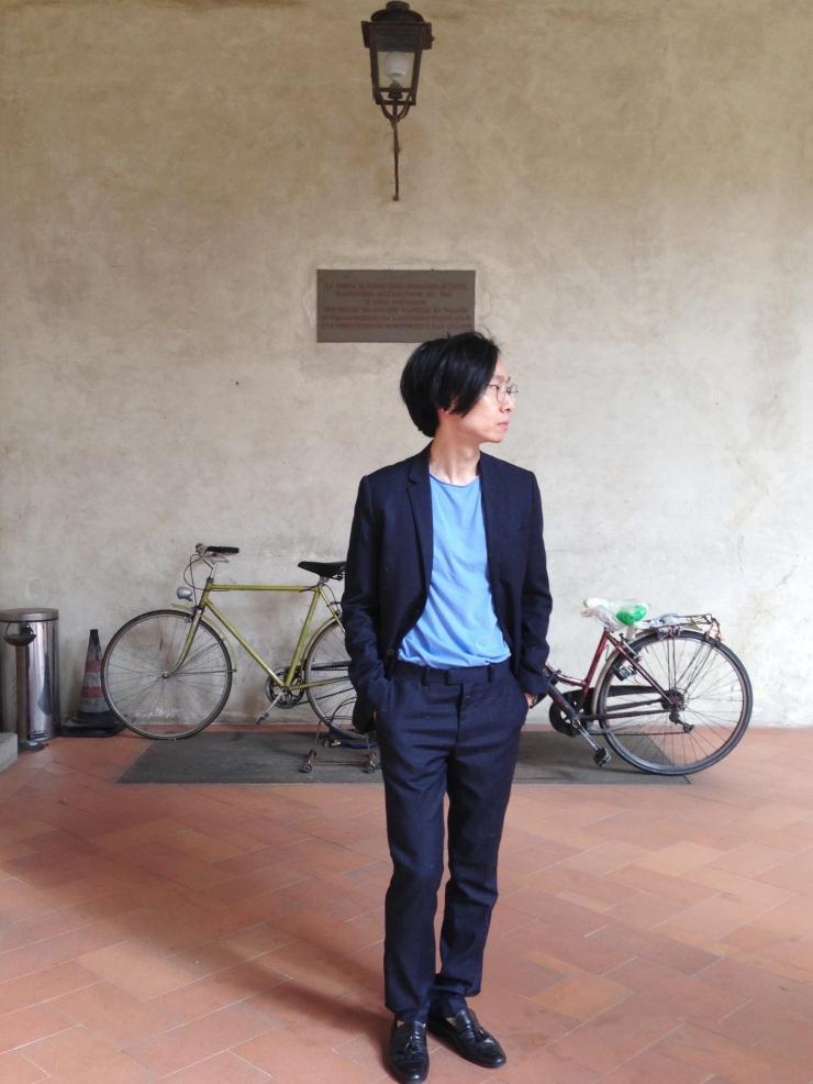 Alvin Chia Melbourne in Florence Borgo Pinti Italy 2016 Street Style Stylist