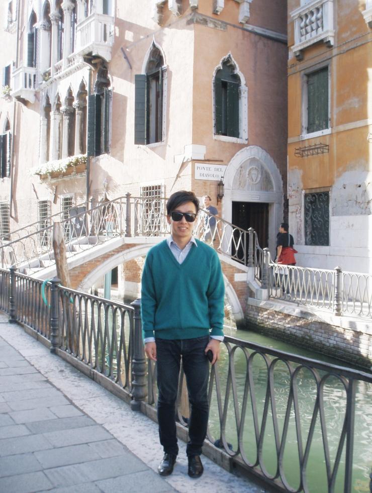 Alvin Chia Melbourne in Venice 2007 Venezia Street Style Stylist