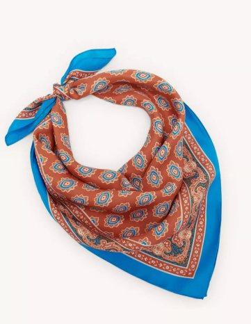 Sandro Paris Chadstone silk scarf